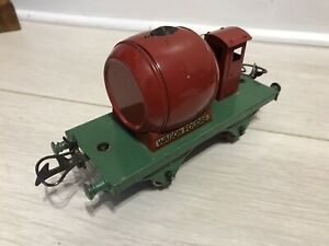 ⭐️⭐️⭐️ Vintage Hornby O Gauge French Wine Wagon With Guards Hut