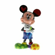 Disney Britto Mickey Mouse Thinking Collectors Figurine - Boxed Enesco Gift Cute