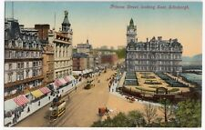 Edinburgh; Princes St Looking East PPC, Unposted, Early 20th c