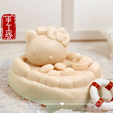Soap Mold Craft Kitty Cat Silicone Soap Making Mould Candle Resin Handmade Mold