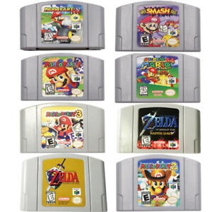 Super Mario 64 Kart Smash Bros Zelda N64 Game For Nintendo 64 Tested Working