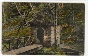 HERMIT'S HUT, CALDERWOOD GLEN, EAST KILBRIDE: Lanarkshire postcard (C61149)