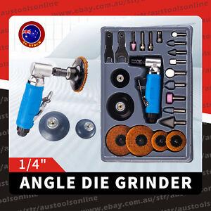"23pcs Air Angle Die Grinder -1/4"" Mini Pneumatic Polishing Carving Tool Kit"