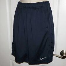 Nike Dri-Fit Training Shorts Blue Athletic Youth Boys Sz Medium M EUC SL