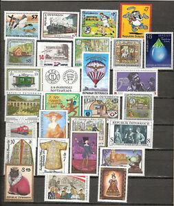 Österreich Jahrgang 2001 Postfrisch ** MNH