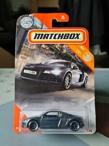 MATCHBOX AUDI R8 GREY #29 RARER USA LONG CARD BRAND NEW UK STOCK