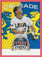 2015 Robert Refsnyder Panini USA Stars and Stripes Crusade Rookie - NY Yankees