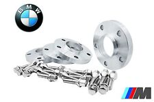 4 Hub Centric Wheel Spacers Kit 5x120 20mm Thick ( Fits: BMW ) W/20 Chrome Bolts