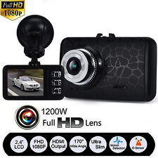 FULL 1080P HD AUTO CAR DVR Vehicle Video Camera Recorder Dashcam G-sensor IR