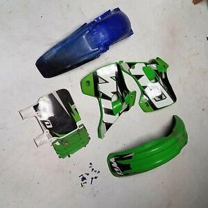 UFO Plastics KA02731026 Rear Fender KX Green Fender 11-6275 12-172-22