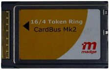 Madge 16/4 Token Ring CardBus Adapter MK2 PCMCIA + Kabel ID17450