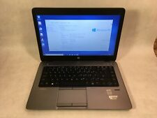 "HP EliteBook 840 G1 14"" Laptop Intel i3-4010U 1.7GHz 4GB 128GB SSD Windows 10"