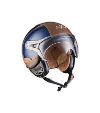 Soxon Sp-325-urban Bobber casco Demi-jet Vespa Vintage piloto Cruiser M...