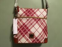 Dooney Bourke Lexington crossbody coated cotton handbag  New   Womens accessory