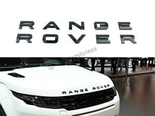 For RANGE ROVER 1 Set Gloss Black LETTERS HOOD TRUNK EMBLEM BADGE NAMEPLATE