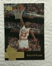 1995-96 Upper Deck Jordan Collection #JC7 Jordan/Rising To The Occasion