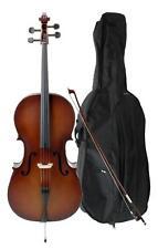 Violoncelle Orchestre Instrument a Cordes Taille 3/4 Archet 4 Corde Housse Set