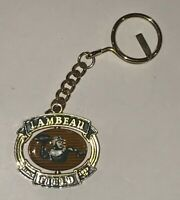LAMBEAU FIELD Since 1937 Green Bay Packers Keychain Ring TAG Football Stadium Mj