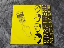 KRAFTWERK POCKET CALCULATOR N MINT DISC 1981