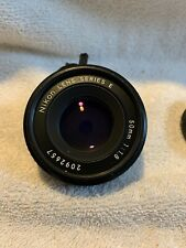 Nikon Lens 50mm Series E 50mm1:1.8 #2092657