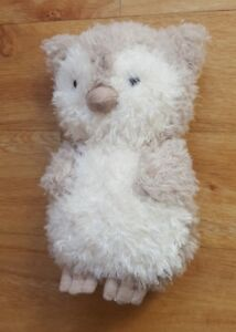 Jellycat Little Owl Soft Toy Plush Comforter Soother Baby Hug Toy Dou Bird Cute