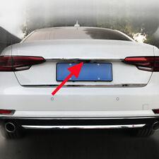 FOR Audi A4/B9 Sedan 2016+ Chrome Steel Tail Gate Trunk Strips Trim Accessories