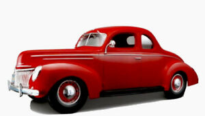 1:18 MAISTO 1939 FORD DELUXE  RED SPECIAL EDITION COLLECTIBLE BARGAIN