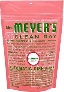 Clean Day Automatic Dish Packs by Mrs. Meyer's, 12.7 oz Lemon Verbena