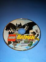 LEGO Batman: The Videogame (Nintendo Wii, 2008) Game Disc Only- Fast Ship