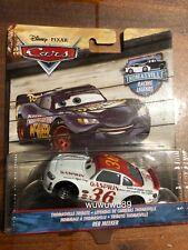 Disney Cars Reb Meeker #36 Thomasville Racing Legends Damaged Card 1:55 Diecast