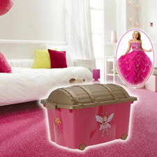 Plastic Toy Boxes & Chests for Girls
