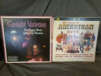 VERY RARE 50 Years Of American Hits 5 Record Set + Gaslight Varieties 6 Records