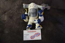 Vintage Mattel Street Sharks Steeljaw Jab Action Figure Space Force Complete '96