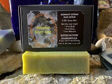 Organic Soap Bar 5 OZ. ~Midnight Spring Rain Scrub~ Back To Basics Soap CO.