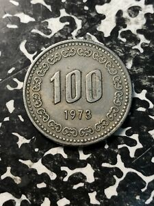 1973 Korea 100 Won (Many Available) Circulated (1 Coin Only)