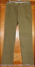Belstaff Green Chinos Pants Mens Trousers EU Size 46 Cotton NWT