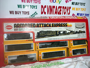 Cox HO Scale Armored Attack Express