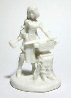 1x ELVEN WEAPONSMITH townfolk - BONES REAPER figurine miniature villageois 77459