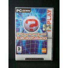 GIOCO PC IL GRANDE QUIZ SUL CALCIO ITALIANO 5060015534698