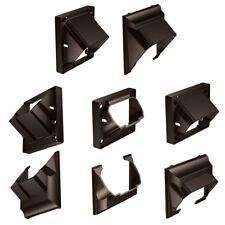DeKorators Stair Rail Connectors - 4 brackets - Black