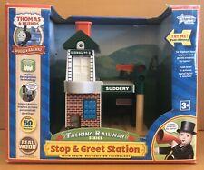 Thomas & Friends Talking Railway Train Stop & Greet Station Learning Curve