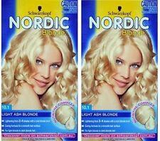 3 x Nordic Blonde Permanent Hair Colour & TIGI Dumb Blonde Hair Reconstructor