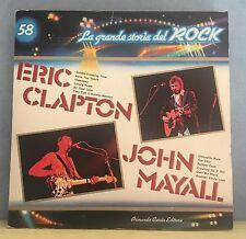 ERIC CLAPTON/ JOHN MAYALL La Grande Storia Del Rock 58 1982 Vinyl LP Italian