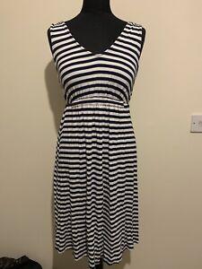 Tu Striped Dress Size 8