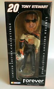 TONY STEWART FOREVER LEGENDS OF THE TRACK BOBBLE HEAD #20 HOME DEPOT 2003