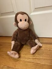 """Curious George Applause By Russ Brown Plush Monkey 16"""" Stuffed Toy"""