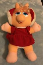 Vintage Miss Piggy Christmas Edition Muppet Baby