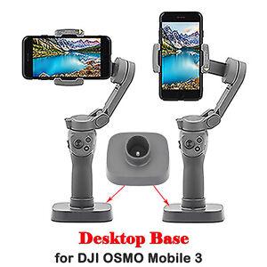 Handheld Phone Gimbal Desktop Base Stand Holder Stabilizer for DJI OSMO Mobile 3