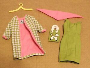 Poodle Parade Reproduction Outfit Barbie Clothes Jacket Dress Purse Scarf Repro