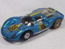Cox 1/24 chasis con lancer Porsche c6 fugazmente-vintage miniatura (f3541)